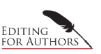 Editing for Authors Logo